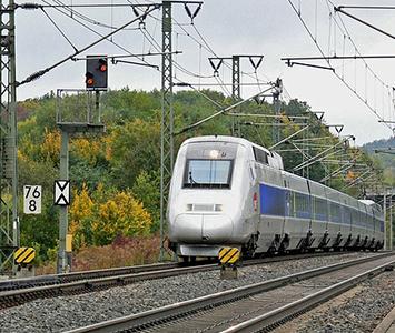 High speed train sensor